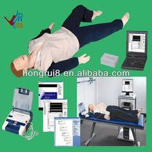 Advanced AED and trauma Sims CPR manikin nursing care training dummy