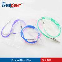 Dental bib clips / metal clips