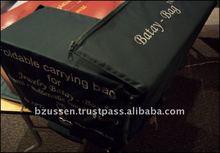Batay Good Quality Navy Blue Basic Unfoldable Box Carrying Bag