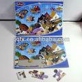 Atacado custom puzzles, puzzle impressão, coloridos quebra-cabeças