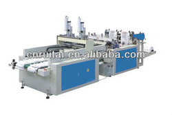 Double Lines Sealing and Cutting Machine ( t-shirt bag making machine)