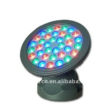 rgb round 36w led wall washer