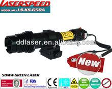 Tactical subzero long distance 50mw green laser designator/emergency use laser designator