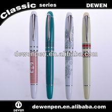 2013 dewen elegant promotional advertising metal customized souvenirs pen