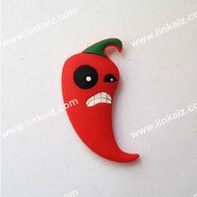 Custom red pepper magnet fridge magnet