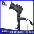 2.4g مشغل فلاش استوديو التصوير المعدات المحمولة