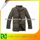 2013 high quality designer winter long down coat for men