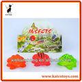 Eco- vinile amichevole animale rana giocattolo set
