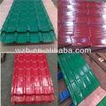 Pre galvanizado y pintado de hierro/de acero para techos hojas/decorativo hojas del techo