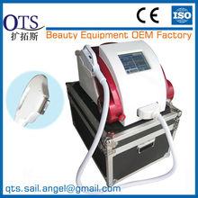 qts-e500 e-- ضوء الليزر تجديد الجلد الصورة والبريد-- إزالة الشعر رشاشة خفيفة