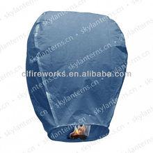 CE Passed Dark blue Wholesale Sky Lantern