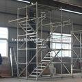 Tour échafaudage de travail avec la norme/ledger/entretoise diagonale/broadstep