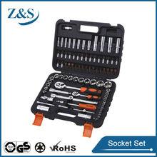 86pcs 1/2&1/4 dr.metric socket wrench set,hand tool kit