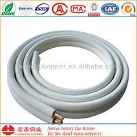 ASTM B280 copper pipe insulated copper pipe