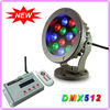 IP65 Beautiful RGB 12W LED Projector Light