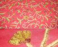 Cadena de Cachemira cosida/telas bordadas de la lana para bordar