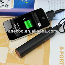 2013 new arrive alumimun case hot sale cheap rechargeable battery pack for iPhone, Samsung, smartphone