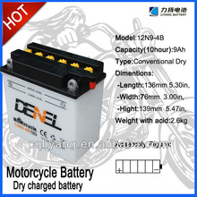 rechargeable sealed lead acid 12v12ah accumulator/battery for car four wheel bicycle Operate motor batteries plant