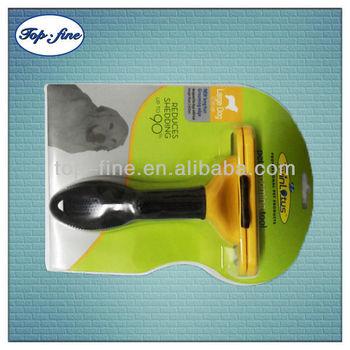 Plastic handle stainless steel high quality pet grooming dog groooming