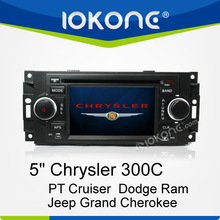 In Dash Car Multimedia GPS for Chrysler 300C/PT Cruiser/Dodge Ram/Jeep Grand Cherokee