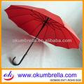 agradable chino de moda paraguas de color rojo para la boda
