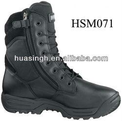 DH,magnum side zipper mens black leather spider 8.0 assault combat boots