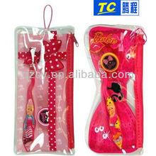 Kids Girls Toothbrush Travel Case Pvc Pouch