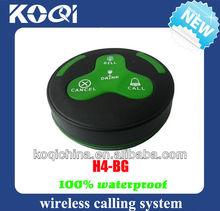 Guest wireless call button H4-BG waterproof
