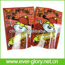Chian Red Envelope Mylar Laminated Vivid Printing Mr Happy Bags