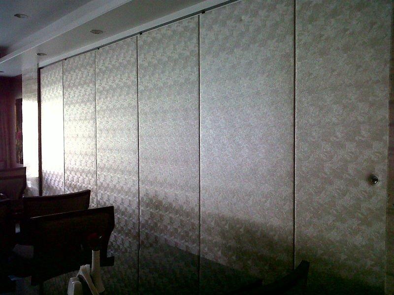 Cloison mobile mur