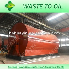Fuel oil furnace oil and Oil density 0.89/combustion value 17008 BTU/lb get from waste tire/plastic recycling machine
