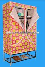 JP-100AB New Design Sliding Wardrobe Folding Cloth Fabric Wardrobe In Dubai