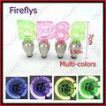 Hot!! 1 set 2 pair/set Fireflys Bicycle flashlight Wheel lights LED Bike light Valve Core light Multi-colors FFF