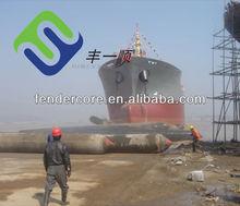 Heavy duty marine rubber airbags export to Batam shipyard