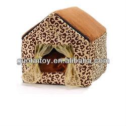 gorgeous warm&comfortable plush&stuffed pet/dog/cat house manufacturer