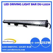 12V 24V 42.8Inch 252W IP68 LED Light Bar Cree LED Light for Hyundai, BMW, Nissan DU-L3229