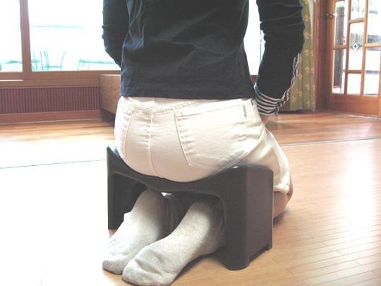 Hasta la rodilla silla for Silla ergonomica rodillas
