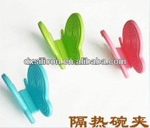 FDA LFGB promotional wholesale Christmas gift item silicone waffle pot holders