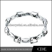 handmade square crystal jewelry