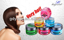 300g New hair wax ingredients with herbal extract for beauty use ( Free samples)