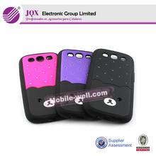 fashional pc+tpu mobile phone case for samsung i9300 protector caso