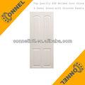 4 ronda del panel con paneles ranurados suave moldeado hdf puerta de paneles