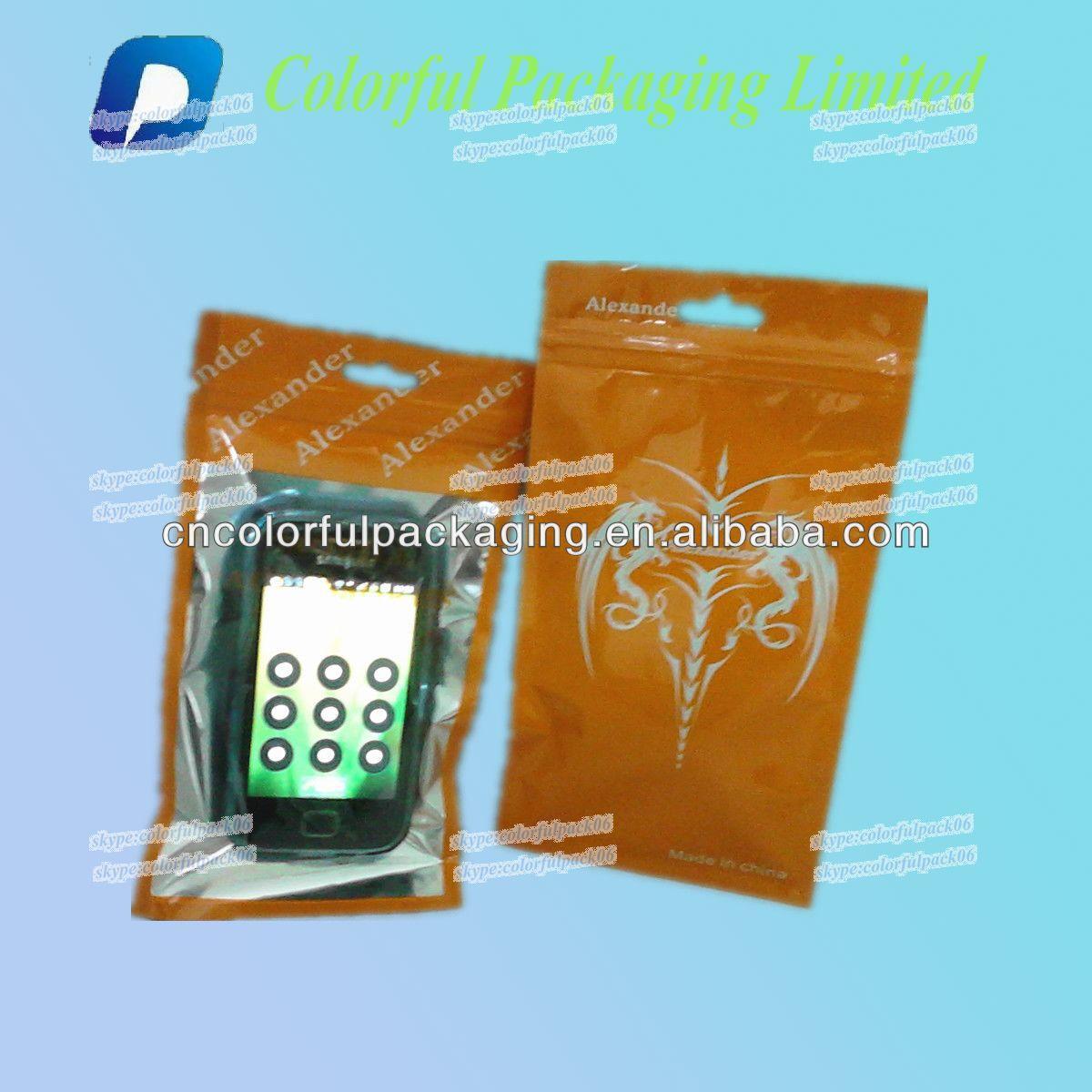 plastic packaging bag for headphones