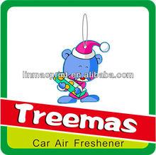 2013 hot sales novelty car air fresheners/paper air freshener Y98