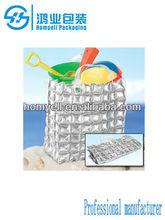 cheap plastic inflatable bubble beach bag (PE material)