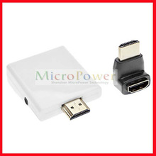 DMI to VGA + audio converter/adapter cable for PC Notebook/Laptop TV box DVD White