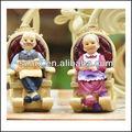 Maravilha de resina figura brinquedos, figura de ação brinquedos para pessoas idosas