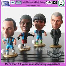 football player action figure/mini football player toy/football figures