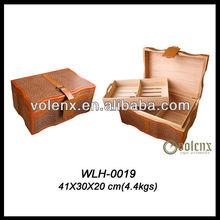 2013 Shenzhen Luxury Leather Cigar Holder(BV&SGS)