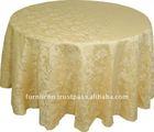 Jacquard round table cloth